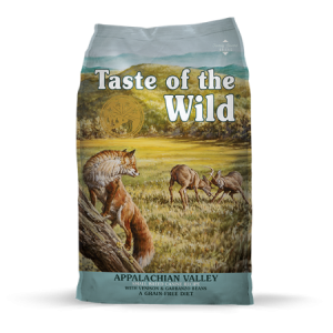 Taste of the Wild Appalachian Valley Small Breed Canine Recipe, with Venison & Garbanzo Beans feed bag