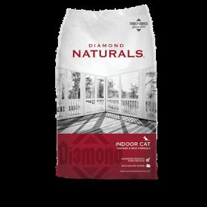 Diamond Natural Indoor Formula Dry Cat Food Bag