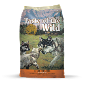 Taste of the Wild High Prairie Puppy Recipe with Roasted Bison & Roasted Venison Feed Bag