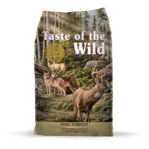 Taste of the Wild Pine Forest Canine Recipe with Venison & Legumes Feed Bag