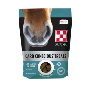 Purina Carb Conscious Horse Treats Bag