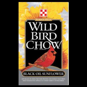 Purina Classic Blend Wild Bird Chow: Black Oil Sunflower Seed Bag