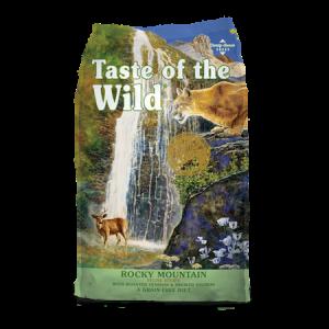 Taste of the Wild Rocky Mountain Feline Recipe Feed Bag