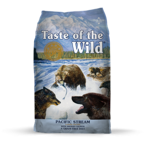 Taste of the Wild Pacific Stream Dry Dog Food Bag