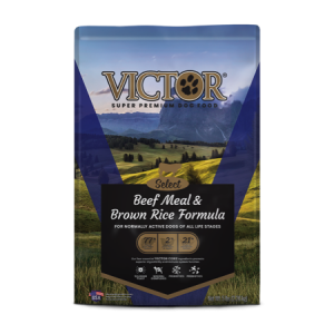 Victor Select Grain Free Beef Meal and Brown Rice Dry Dog Food
