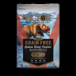 Victor Yukon River Salmon & Sweet Potato Grain Free Dry Dog Food Bag