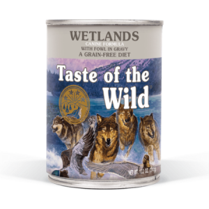 Taste of the Wild Wetlands Canine Formula with Fowl in Gravy, 12.2-oz