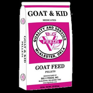 Big V Goat & Kid Medicated Pellets