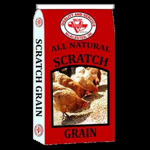Big V Scratch Grain Bag