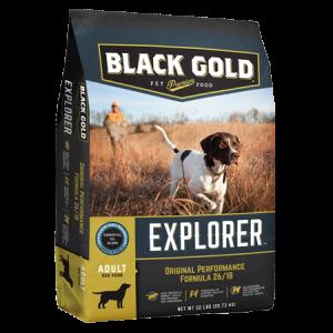 Black Gold Explorer Original Performance Formula 26/18 Dry Dog Food Bag