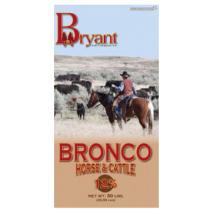 Bronco Textured Horse and Cattle Feed Bag