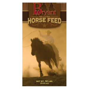 Bryant Senior Performance Horse Pellet Feed Bag