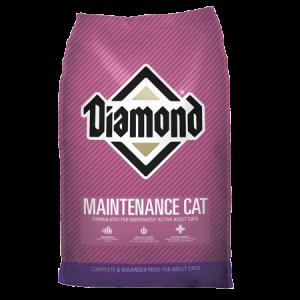 Diamond Maintenance Formula Adult Dry Cat Food Bag