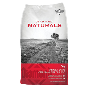 Diamond Naturals Lamb Meal and Rice Formula Adult Dry Dog Food Bag