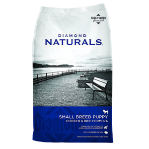 Diamond Naturals Small Breed Puppy Chicken & Rice Dry Dog Food Bag
