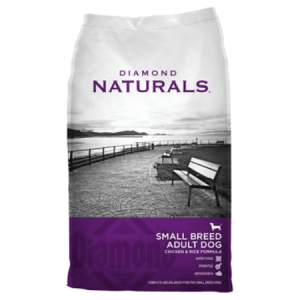 Diamond Naturals Small Breed Adult Chicken Dry Dog Food Bag