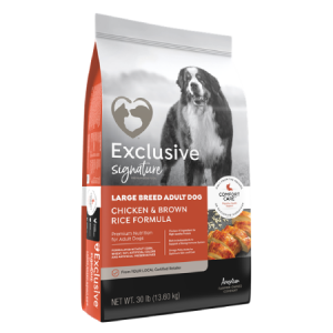 Exclusive Signature Large Breed Adult Dog Food Bag
