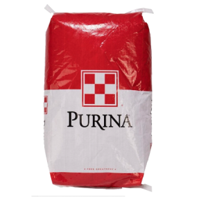 Purina Feed Bag in Red and White