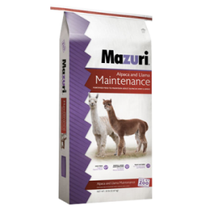 Mazuri Alpaca & Llama Maintenance Diet Feed Bag