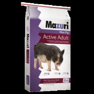 Mazuri Mini Pig Active Adult Feed Bag