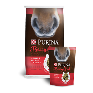 Purina Berry Good Senior Horse Treat Bags