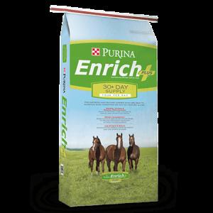 Purina Enrich Plus Ration Balancing Horse Feed Bag