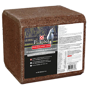 Purina Free Balance 12:12 Vitamin and Mineral Supplement Block