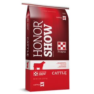 Honor Show Chow Fitters Edge, Red Bag