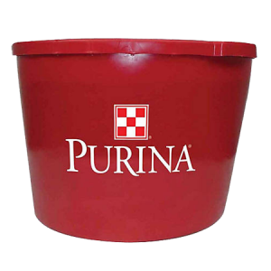 Purina Wind and Rain Storm Availa 4 in a red plastic tub. Features the Purina checkerboard logo.