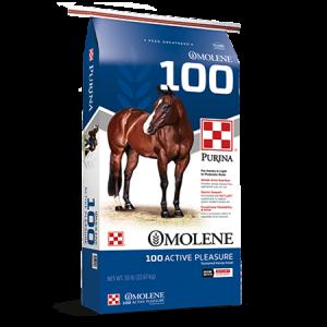Purina Omolene 100 Active Pleasure Horse Feed Bag