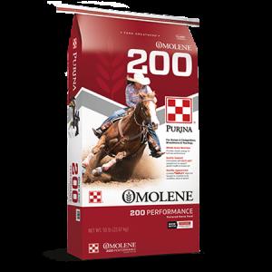 Purina Omolene 200 Performance Horse Feed Bag