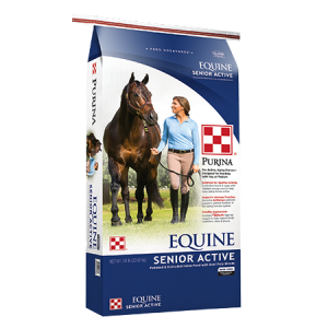 Purina Equine Senior Active Horse Feed Bag