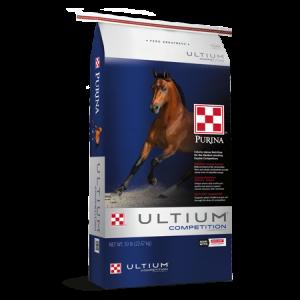 Purina Ultium Competition Horse Formula Feed Bag