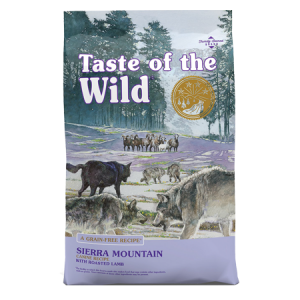 Taste of the Wild Sierra Mountain Grain-Free Dry Dog Food Feed Bag