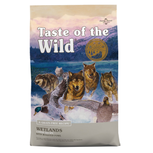 Taste of the Wild Wetlands Canine Recipe With Roasted Fowl Feed Bag