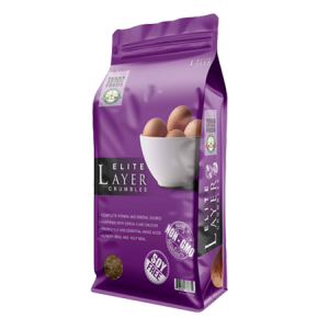 Texas Natural Feed Elite Layer Crumbles Bag