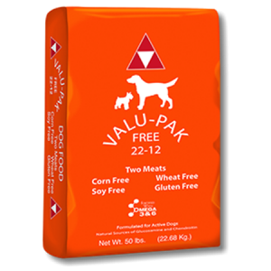 Valu Pak Free 22-12 Dry Dog Food Bag