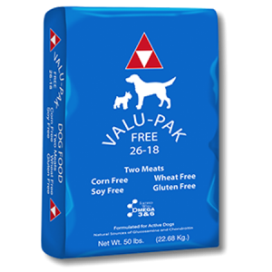 Valu-Pak Free 26-18 Dry Dog Food Bag