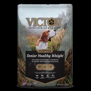 Victor Senior Healthy Weight Dry Dog Food Bag
