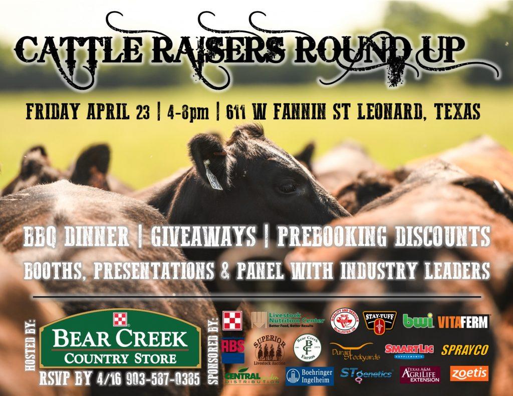 Cattle Raisers Round Up